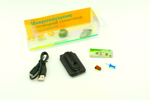 микронаушник без петли power box micratek